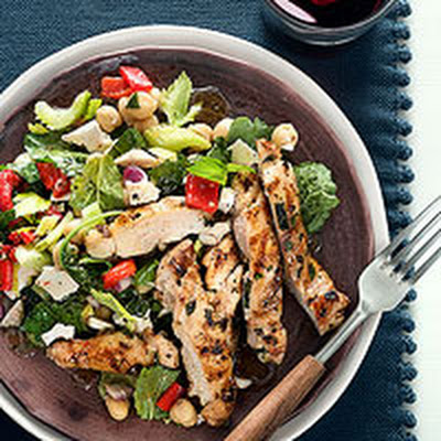 Gremolata Chicken with Confetti Salad