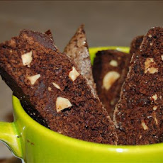 Chocolate and Hazelnut Biscotti