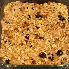 Apple Oats Casserole Bars