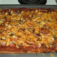 Chicken and Chorizo Pizza