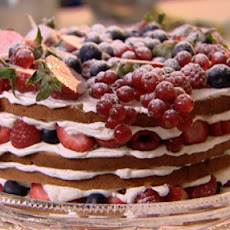 Genoise Sponge Cake With Summer Berries