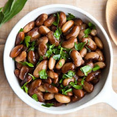Snow Cap Beans with Lemon and Sage