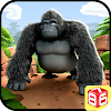 Gorilla Run - Jungle Game