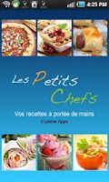 Screenshot of iCuisine Les petits chefs