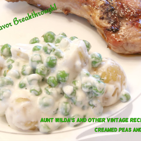 Creamed Peas and New Potatoes!