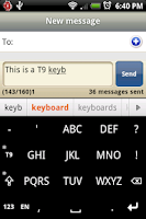 Screenshot of Afrikaans for Smart Keyboard