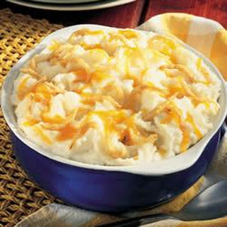 Cheddary Garlic Mashed Potatoes