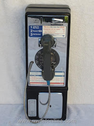 Single Slot Payphones - NYT 1C Manhattan Restaurant loc B-5 1