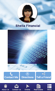 Sheila Financial - screenshot