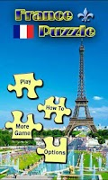 Screenshot of France Puzzle