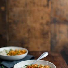 Harissa Lentils and Cauliflower