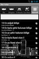 Screenshot of Iller yollar