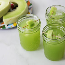 Spicy Honeydew and Coconut Water Agua Fresca