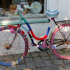 Knitted Bicycle by Benny Berget - Transportation Bicycles