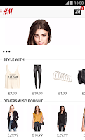 Screenshot of H&M
