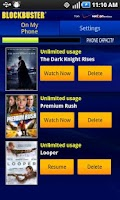 Screenshot of Blockbuster for Motorola