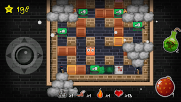 Screenshot of Bomb Crack: Bomb Man War