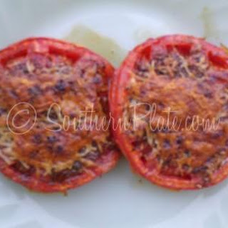 Broiled Tomatoes with Parmesan