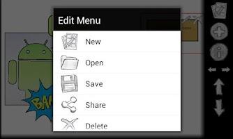 Screenshot of Comic Editor