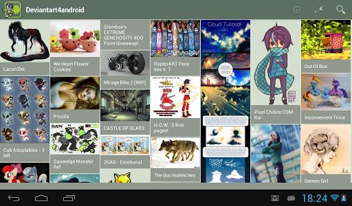DeviantArt4AndroidPro - screenshot