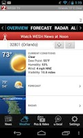 Screenshot of WESH 2 News and Weather