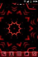 Screenshot of GO Launcher EX Theme Red Futur