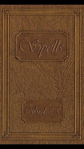Spellbook - D D 3.5