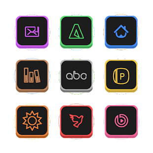 Neons Icon Pack - screenshot