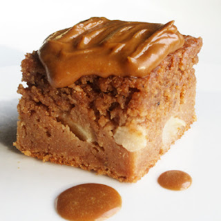 Apple Spice Cake with Caramel Icing
