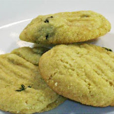 Chef Joey's Vegan Cornmeal-Thyme Cookies