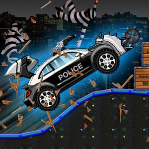Cover art Smash Police Car - Outlaw Run