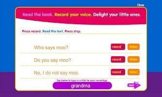 Screenshot of Who Says Moo?