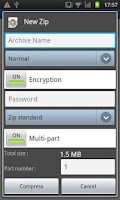 Screenshot of Easy Unrar Unzip & zip (noads)