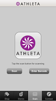 Screenshot of Athleta