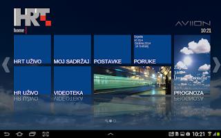 Screenshot of HRT