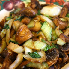 Asian Bok Choy and Mushrooms