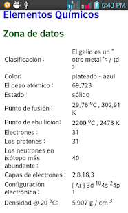 diccionario Quimica - screenshot