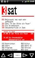 Screenshot of 3SAT/MDR Teletext