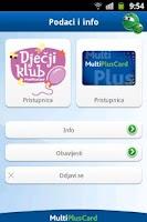 Screenshot of MultiPlusCard