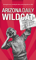 Screenshot of Arizona Daily Wildcat