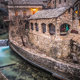 Old Town Mostar by Zeljko Tomic - Buildings & Architecture Architectural Detail