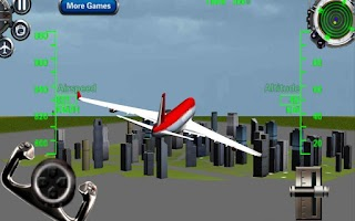 Screenshot of 3D Airplane flight simulator 2