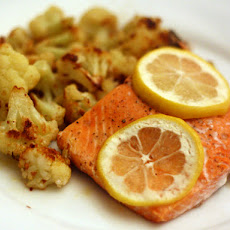 Salmon with Roasted Cauliflower
