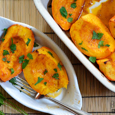 Spice Rubbed Roasted Squash