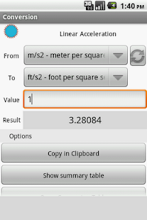 UdM Unit Converter - screenshot