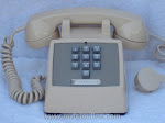 Desk Phones - Western Electric 1500 Ivory