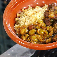 Moroccan Lamb Tagine Smothered with Olives