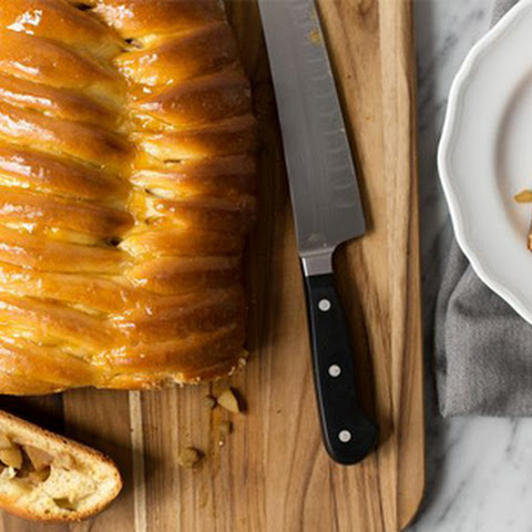Braided Apple Danish Loaf