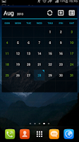 Screenshot of GO Calendar+