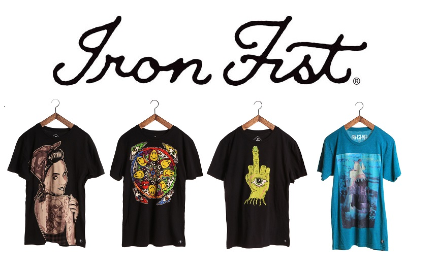 Iron Fist Mens t-shirts
